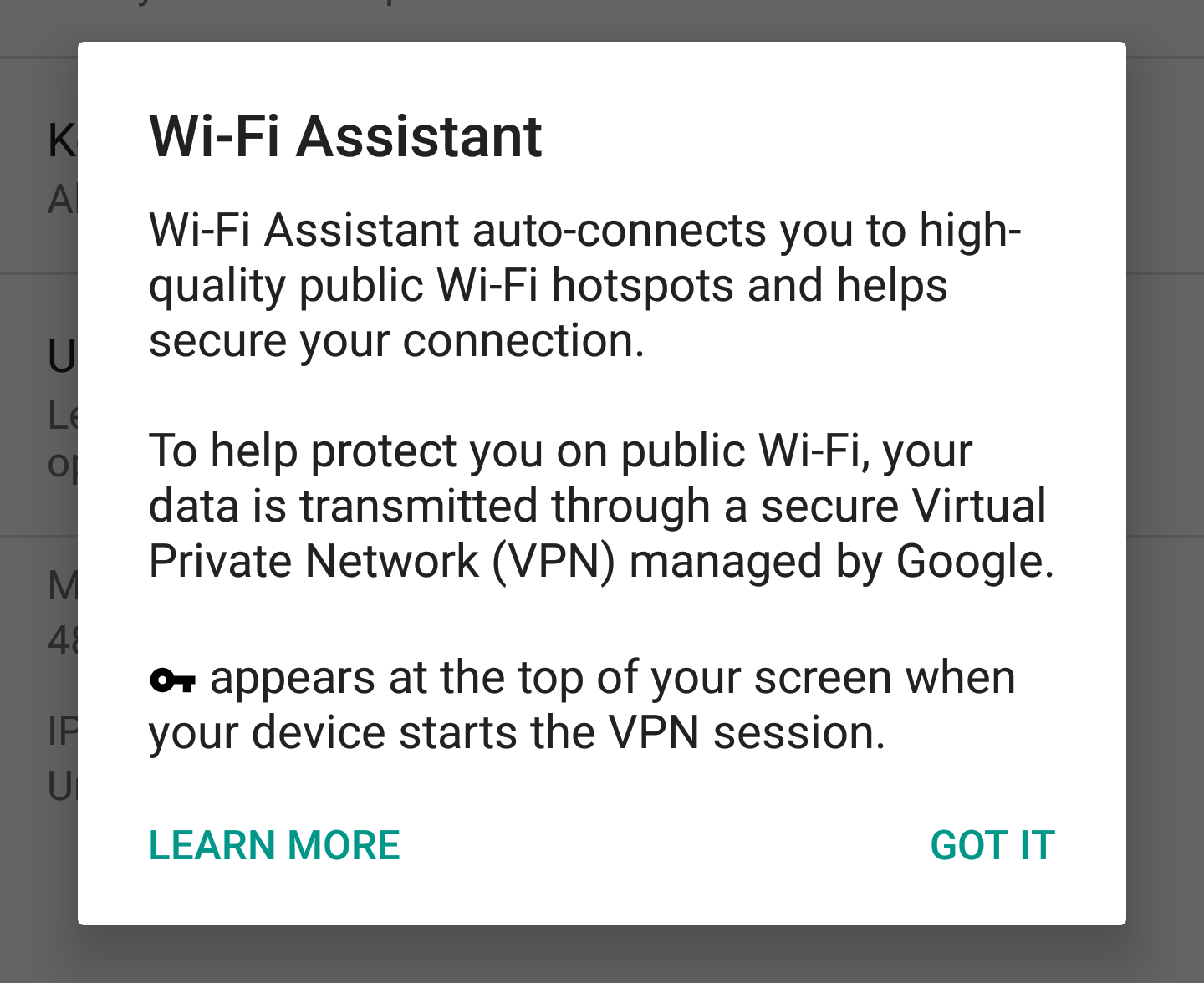 WiFi Assistant for non-Project Fi Nexus devices is rolling out