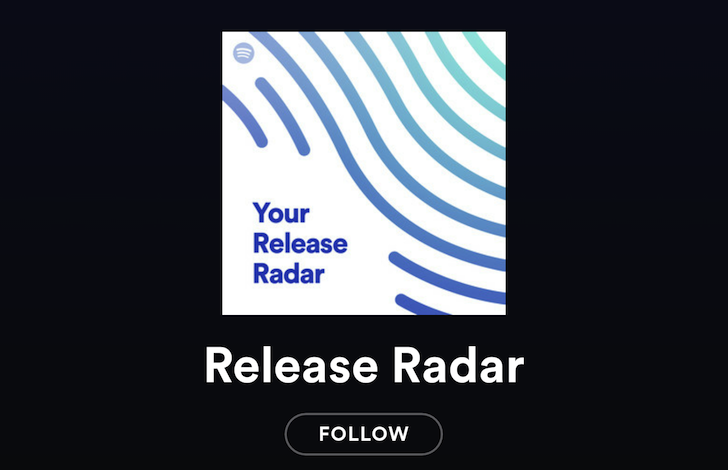 spotify-release-radar