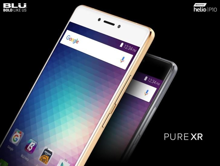 Blu announces the Pure XR, a $299 phone with an octa-core processor, 4GB of RAM, microSD slot, and a fingerprint sensor