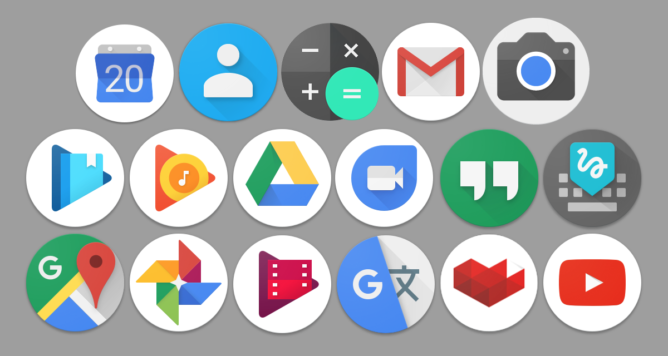 Opinion My Early Thoughts On Google S Round Icons And