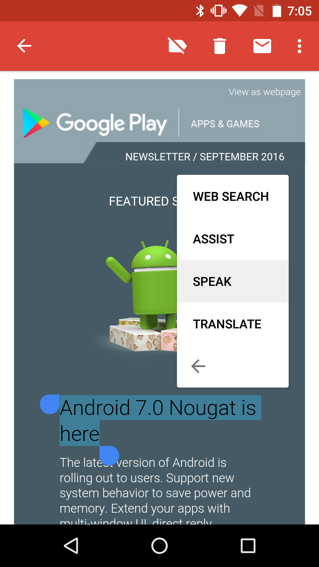 Update: Also adds highlight-and-speak] Text-to-speech v3 10