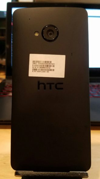 HTC One M8 prototype