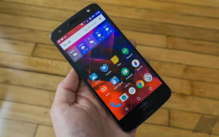 Android 7 0 Nougat update rolling out to Moto Z, Z Force, Z Droid