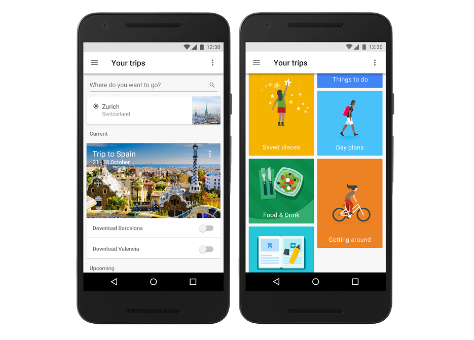 Try Google Trips for personalized mobile guides