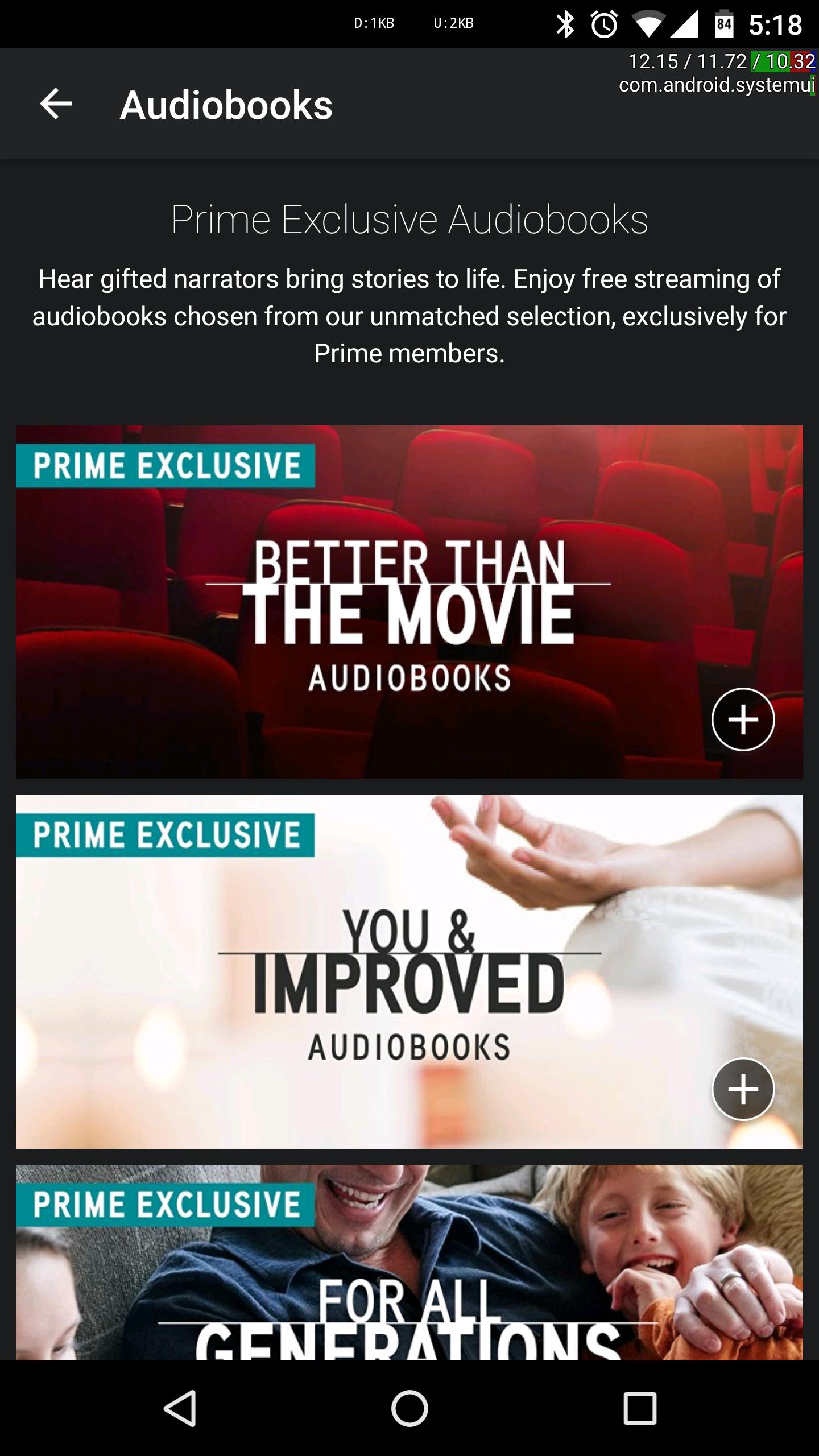 amazon prime audiobooks free