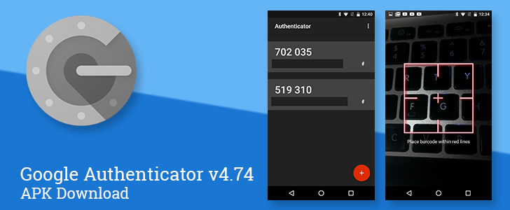 Google Authenticator v4.74 brings a refreshed material ...