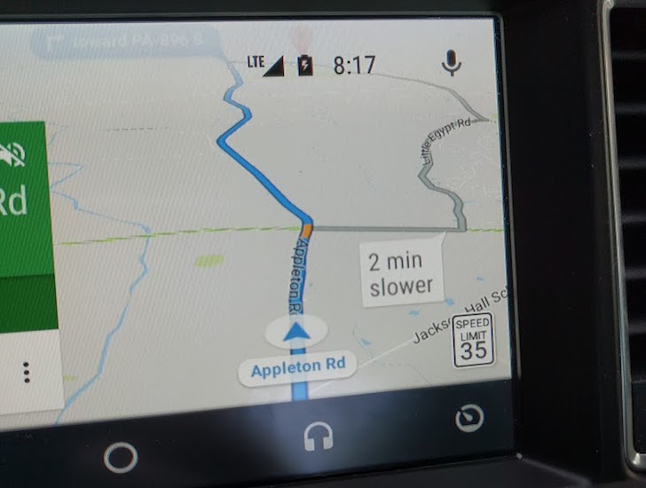 Update: Android app too] Google Maps\' speed limits start showing up ...