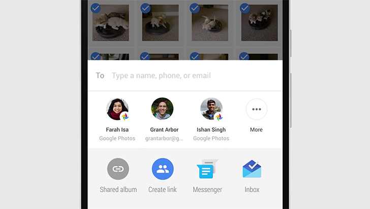 Google Photos update simplifies sharing, launches new automatic creations