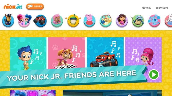 Nick Jr. now has an official app, probably more for your kids