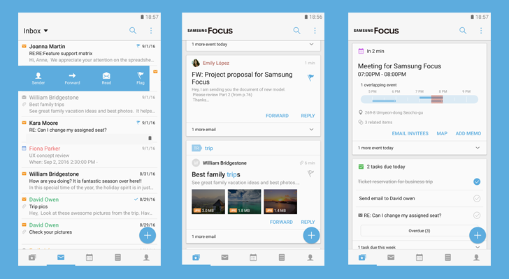 Samsung releases Samsung Focus, an all-in-one productivity app [APK