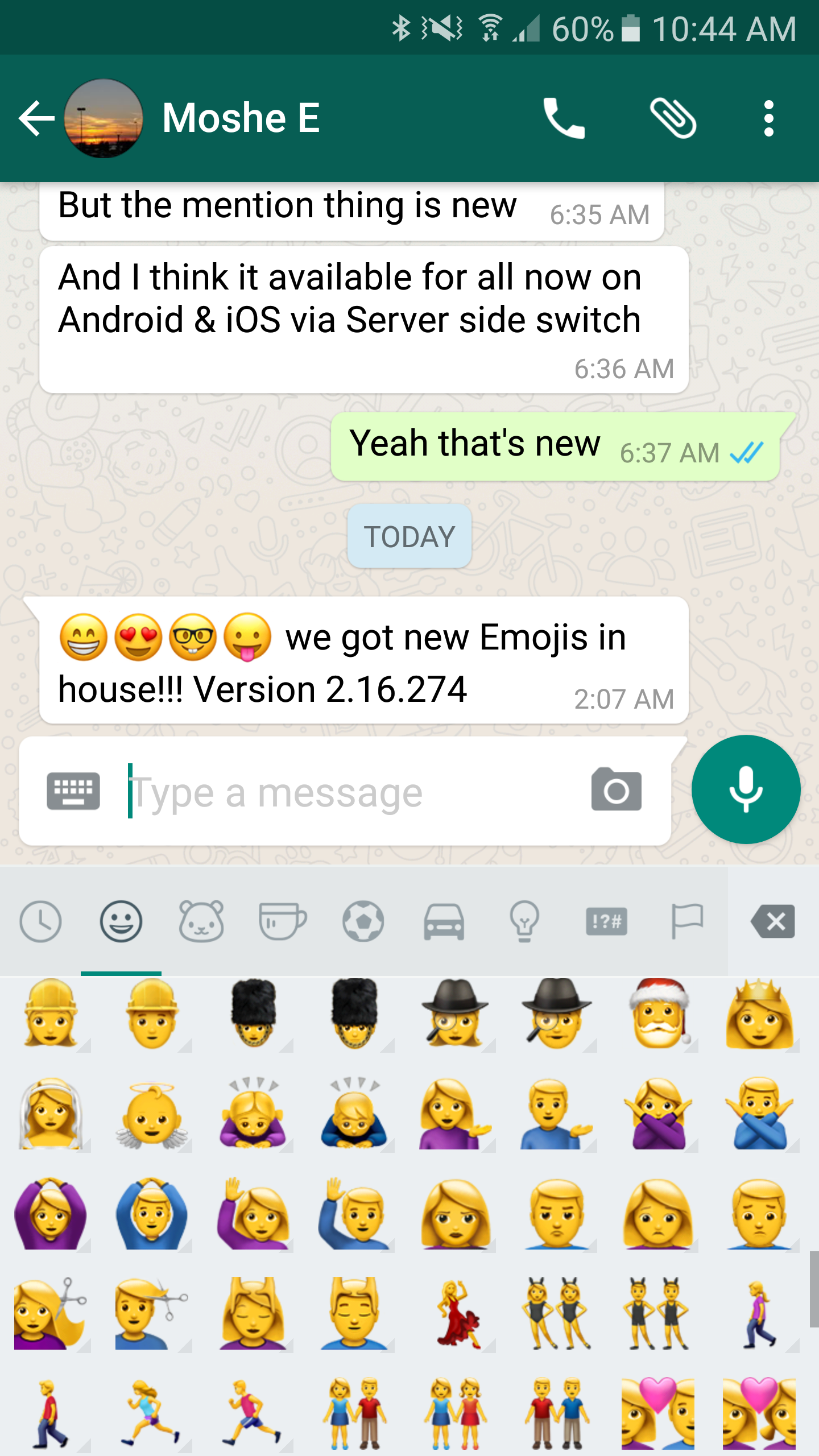 Water gun whatsapp brings ios 10s emojis to its latest android beta android police biocorpaavc