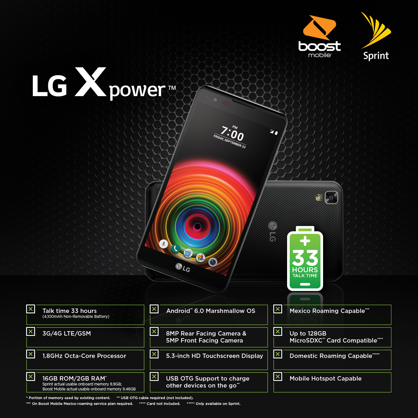 LG launches Sprint and Boost Mobile's first MediaTek-equipped device