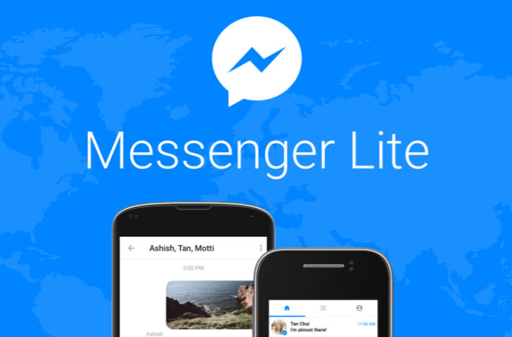 Update: APK Download] Facebook releases Messenger Lite, a