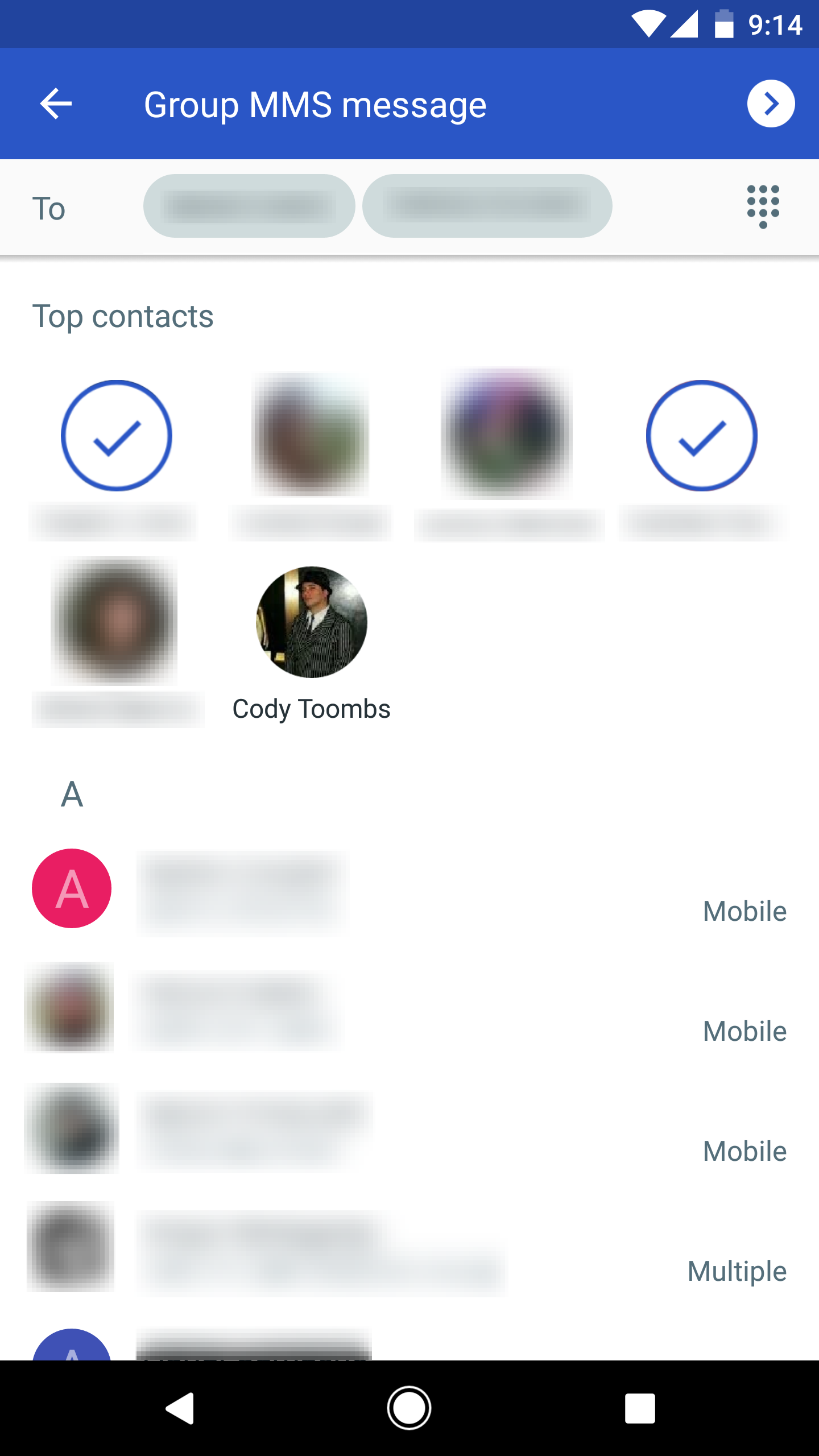Google messenger v20 adds unread counts to several launchers improvements to group messaging buycottarizona