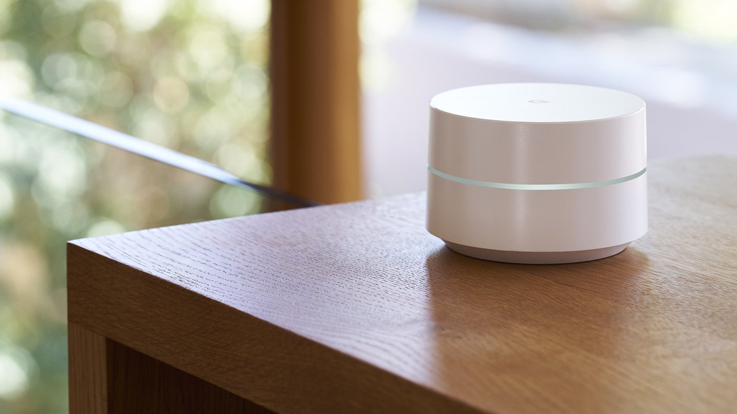 Google Wifi is powered by USB Type-C