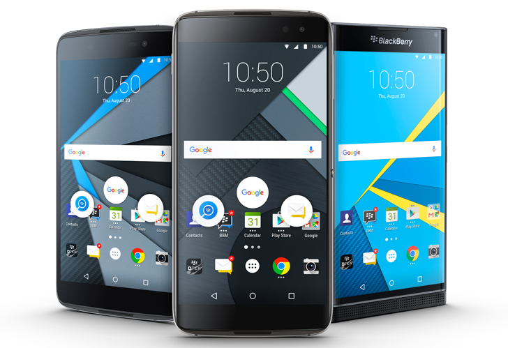 BlackBerry Unveils Last Phone in Pipeline