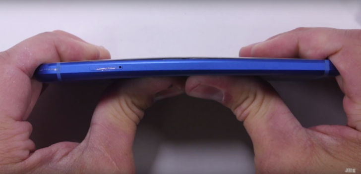 Google's Pixel survives durability tests, including a bend test, that last year's Nexus 6P succumbed to