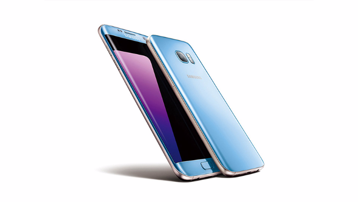 Samsung Galaxy S7 Edge to Receive a Coral Blue Makeover