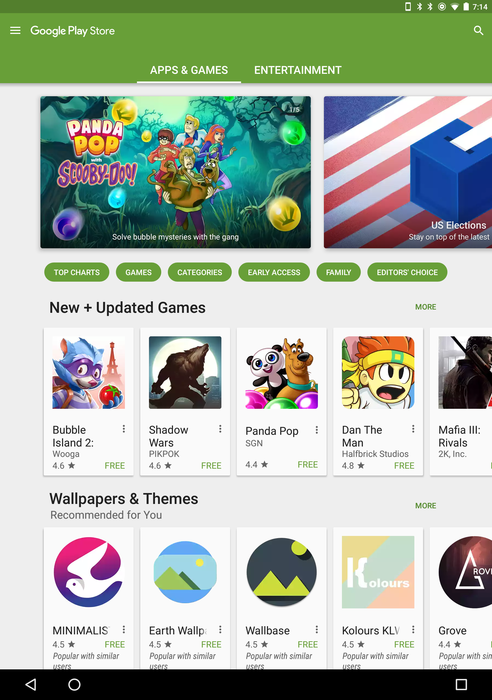 Google testing numerous UI changes for Play Store, including
