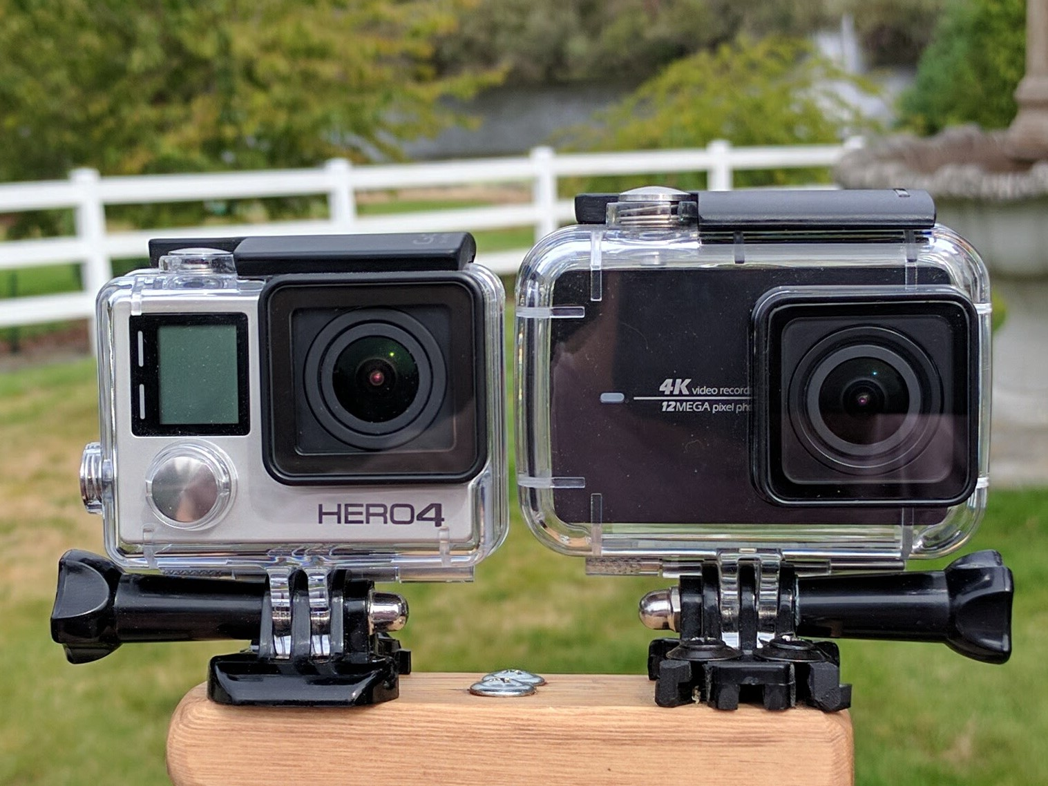 Yi 4k Action Cam Review Gopro Should Be Worried Xiaomi 2 Gen First The Looks Quite A Bit Like Waterproof Case Is Also Nearly Identical Gopros Sounds It Makes