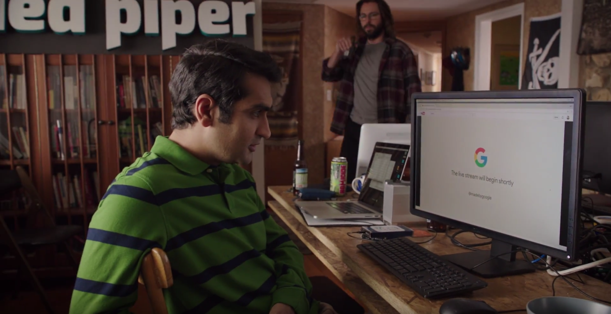 ICYMI: The Google event's hilarious intro featured Dinesh and Gilfoyle from Silicon Valley