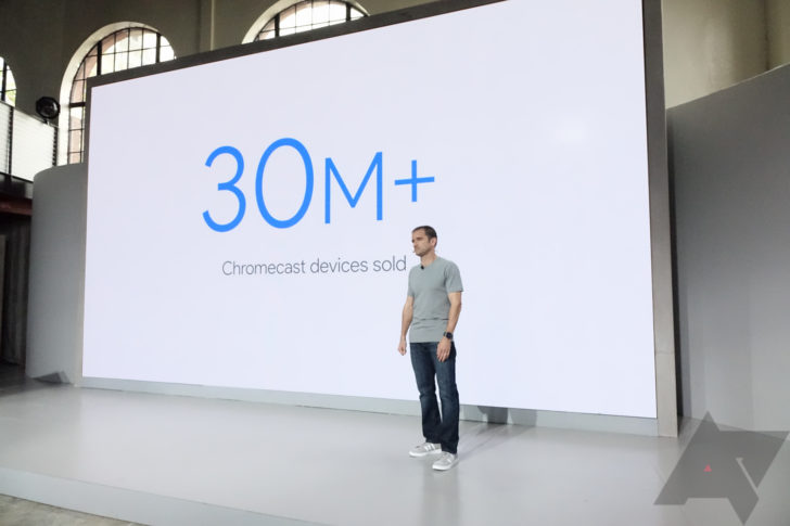 Google has sold over 30 million Chromecast devices since 2013