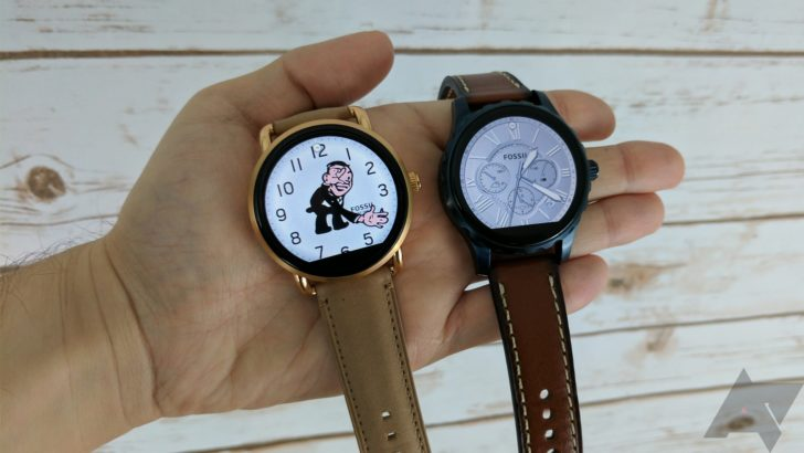 Fossil's Android Wear watches removed from the Google Store