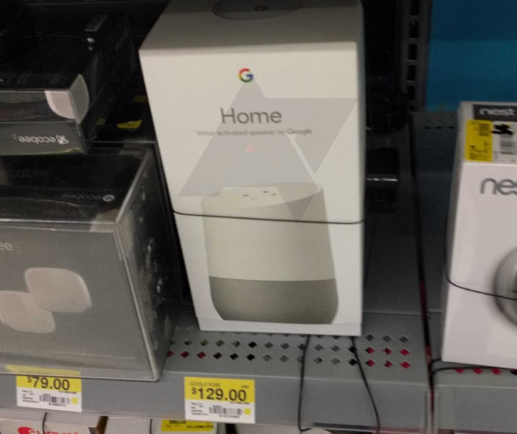 """Walmart Home Store: Walmart """"accidentally"""" Puts Google Home On Store Shelves Early"""
