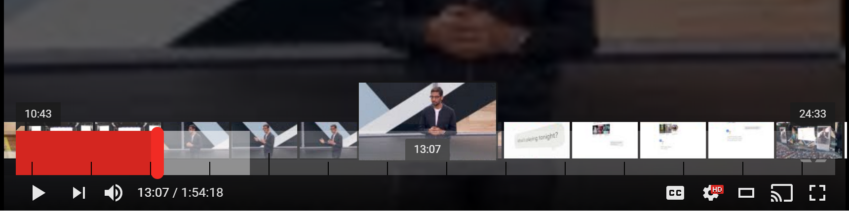 YouTube v11 38 prepares double-tap to seek and a setting to