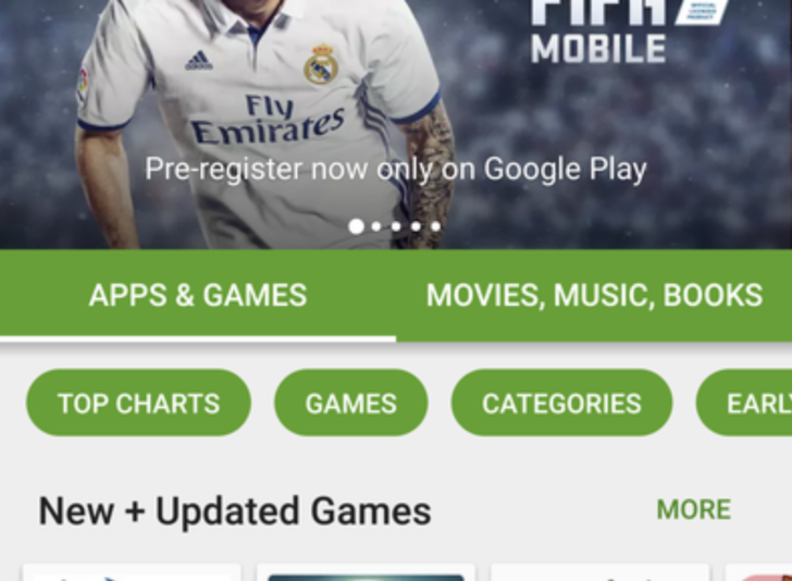 Google testing numerous UI changes for Play Store, including renamed Entertainment section