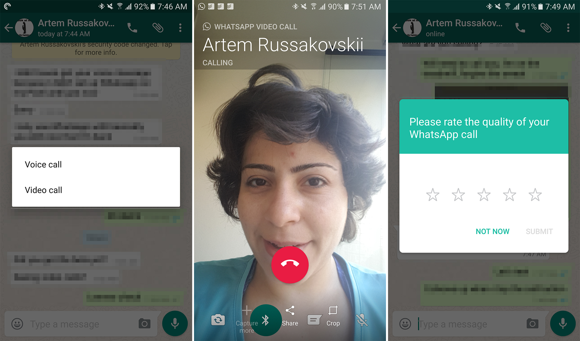 Video calls are going live in WhatsApp