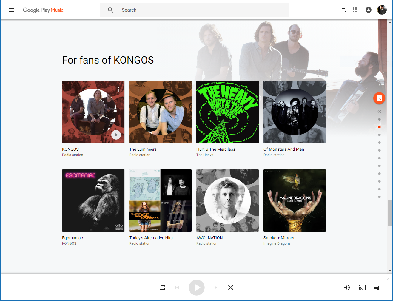 Google Play Music update adds machine learning and a fresh new look