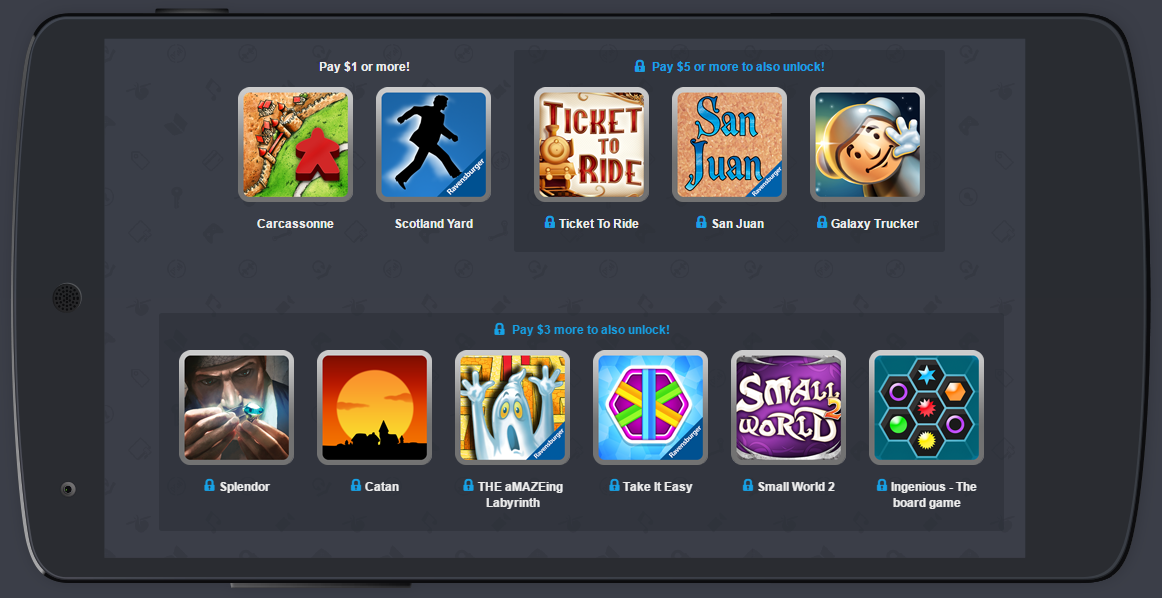 Humble Mobile Board Games Bundle adds Take It Easy, Small ...