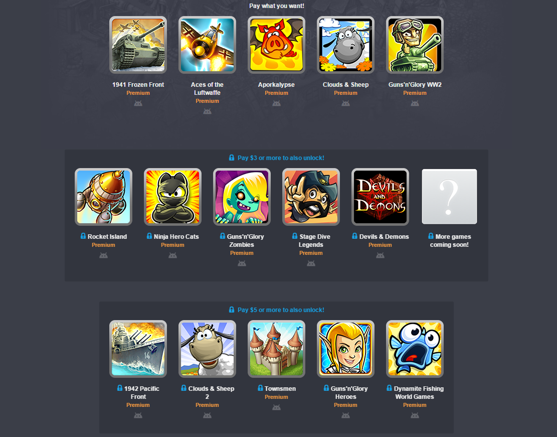Handy Games Android