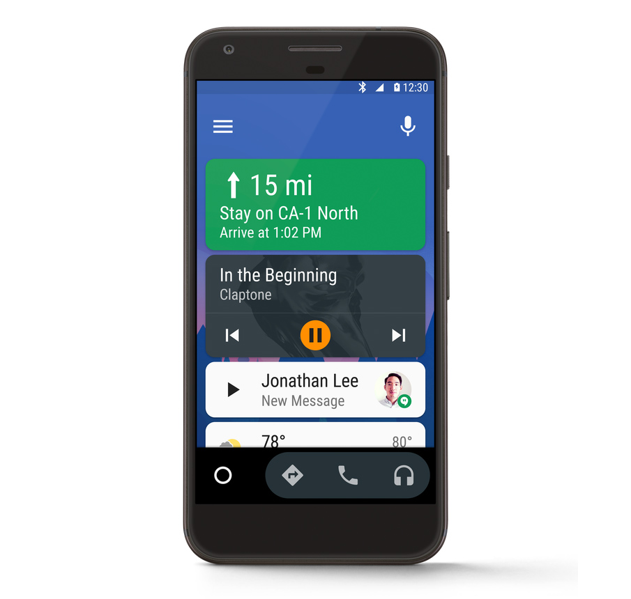 Android Auto v2 0 is rolling out with on-phone mode [APK Download]