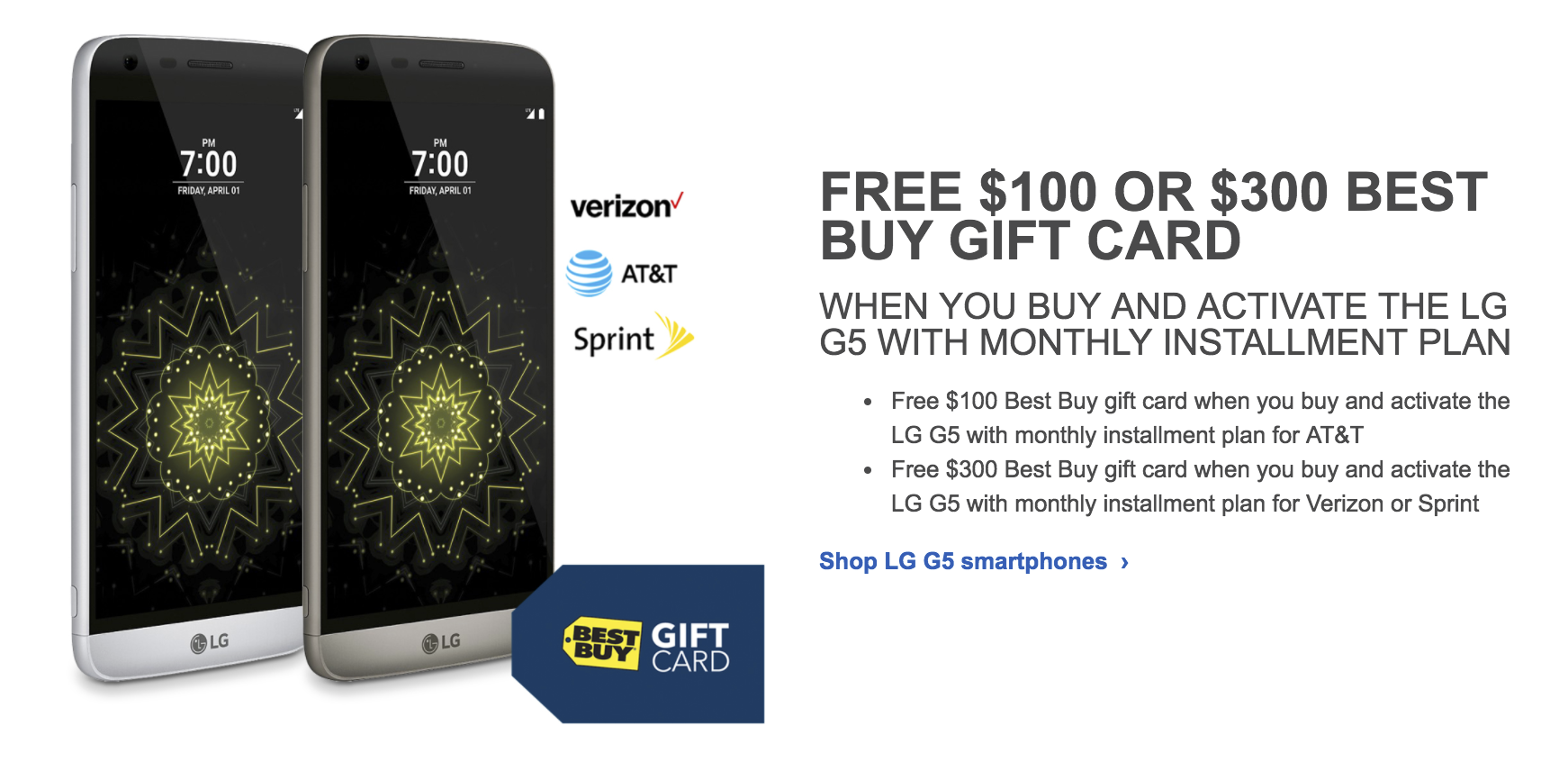 Deal Alert] Save up to $500 on the Galaxy S7 and S7 edge, LG G5 ...