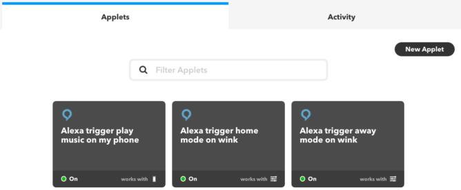 alexa-ifttt-applets