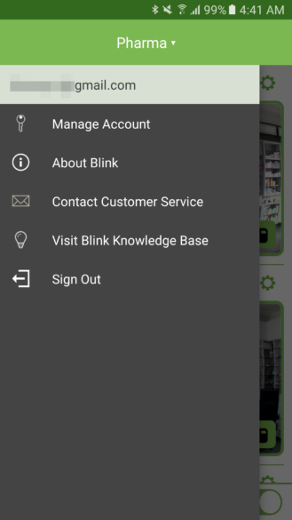 blink-app-main-menu
