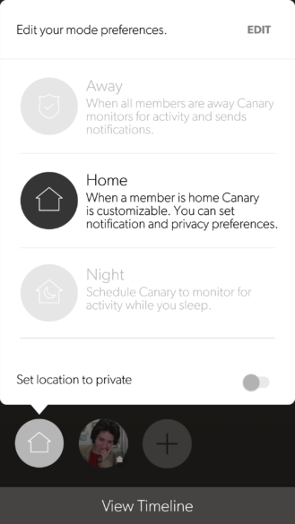 canary-app-home-modes