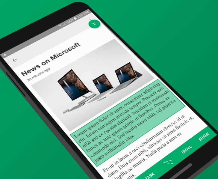 Microsoft's new app tries to fix Android's copy and paste problem