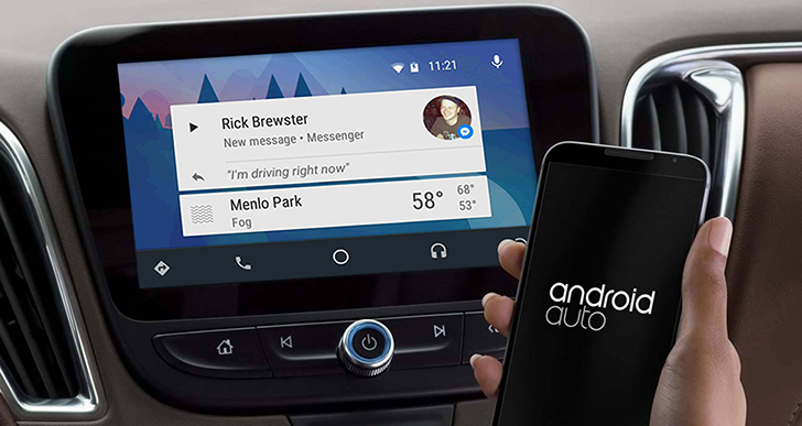 facebook-android-auto