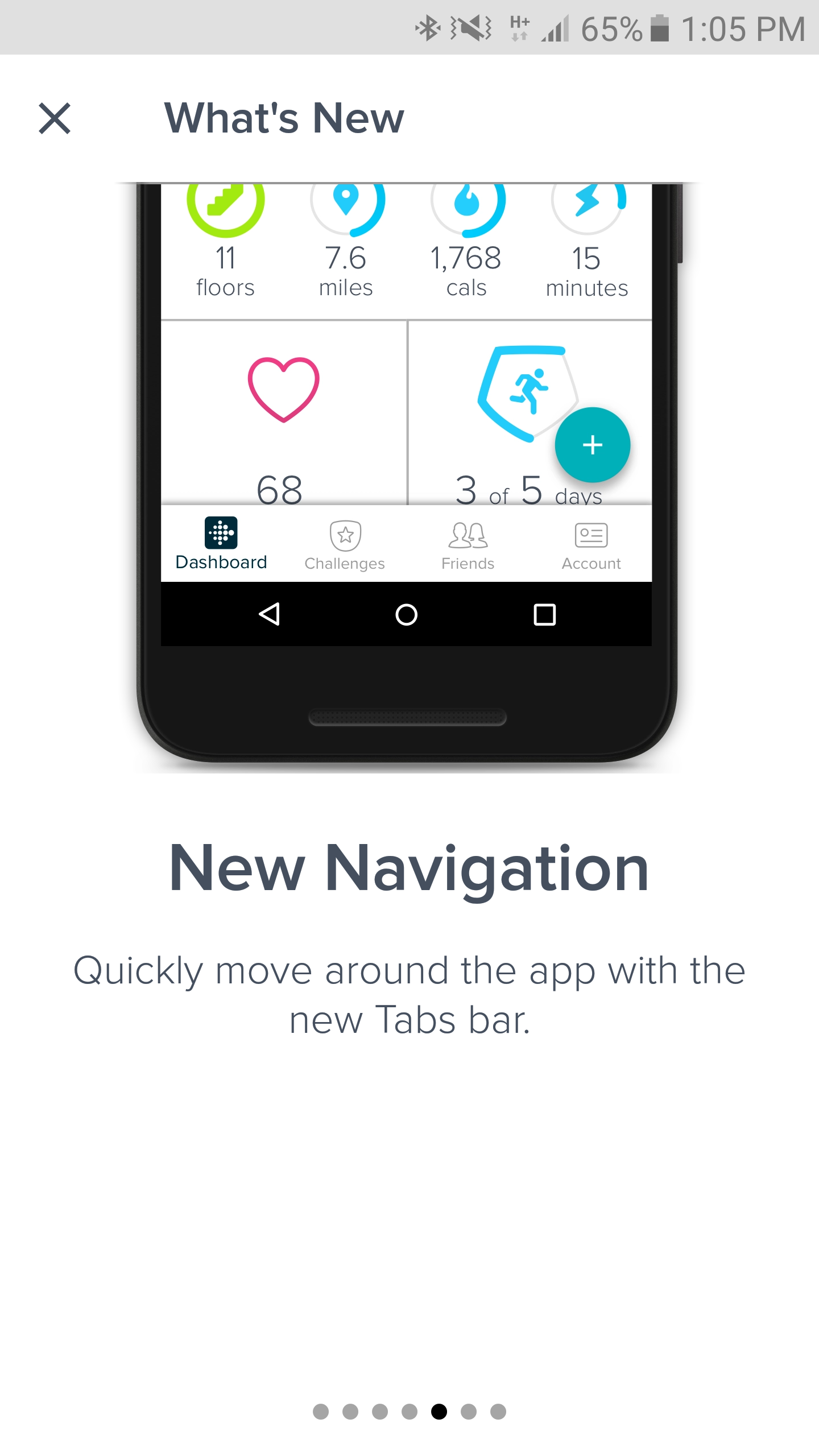 Fitbit's new Dashboard is available for preview in the