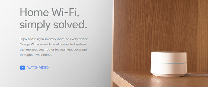 Google Wifi can now be pre-ordered from Google Store, B&H