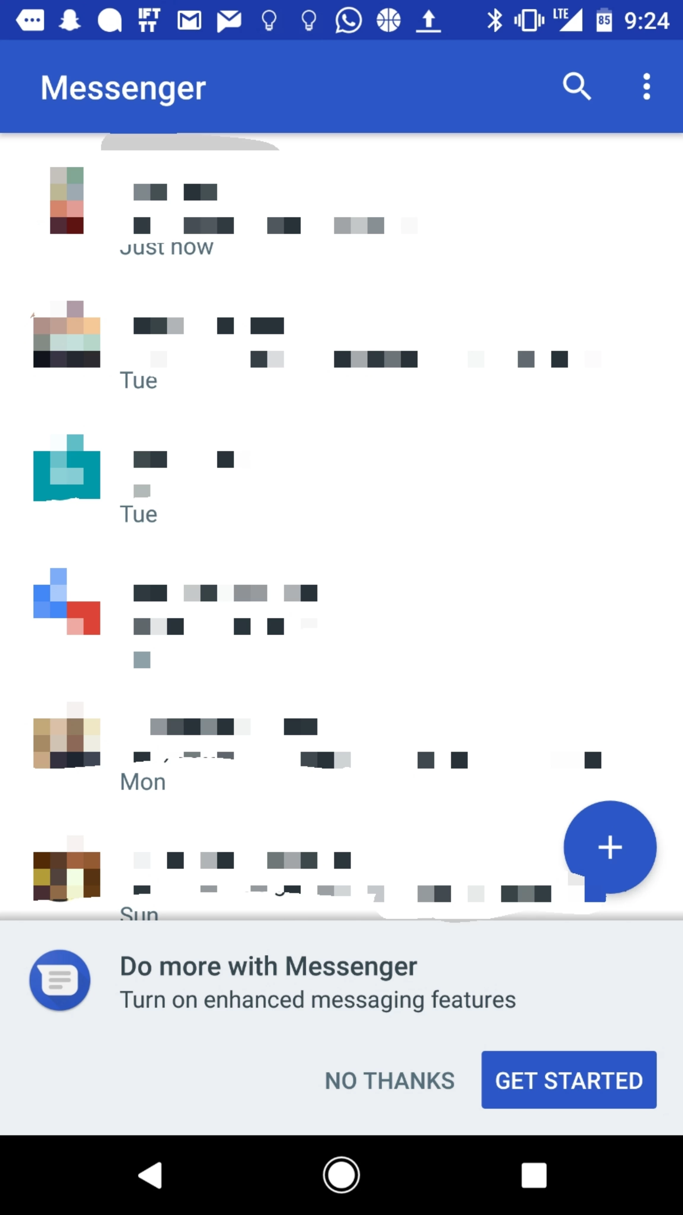 Rcs is going live for some google messenger users enabling image buycottarizona