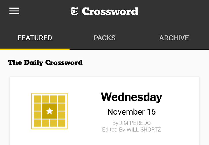The Famous New York Times Crossword Puzzles Move Across Platforms