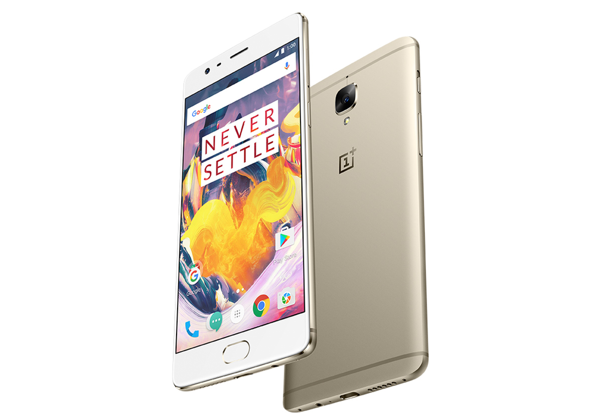 OnePlus 3T announced: New processor, larger battery, improved front-facing camera