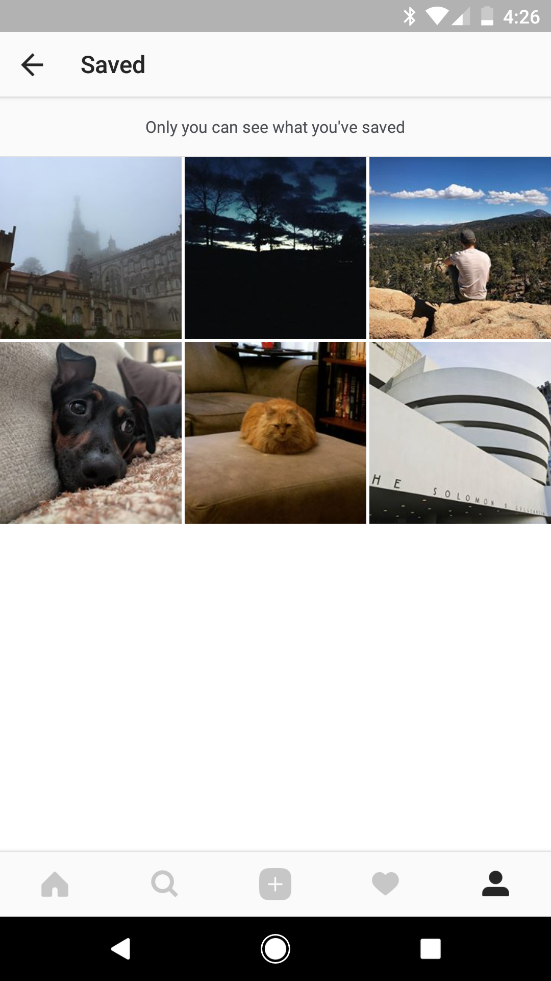 Instagram 10 3 adds 'Saved' tab for keeping photos and
