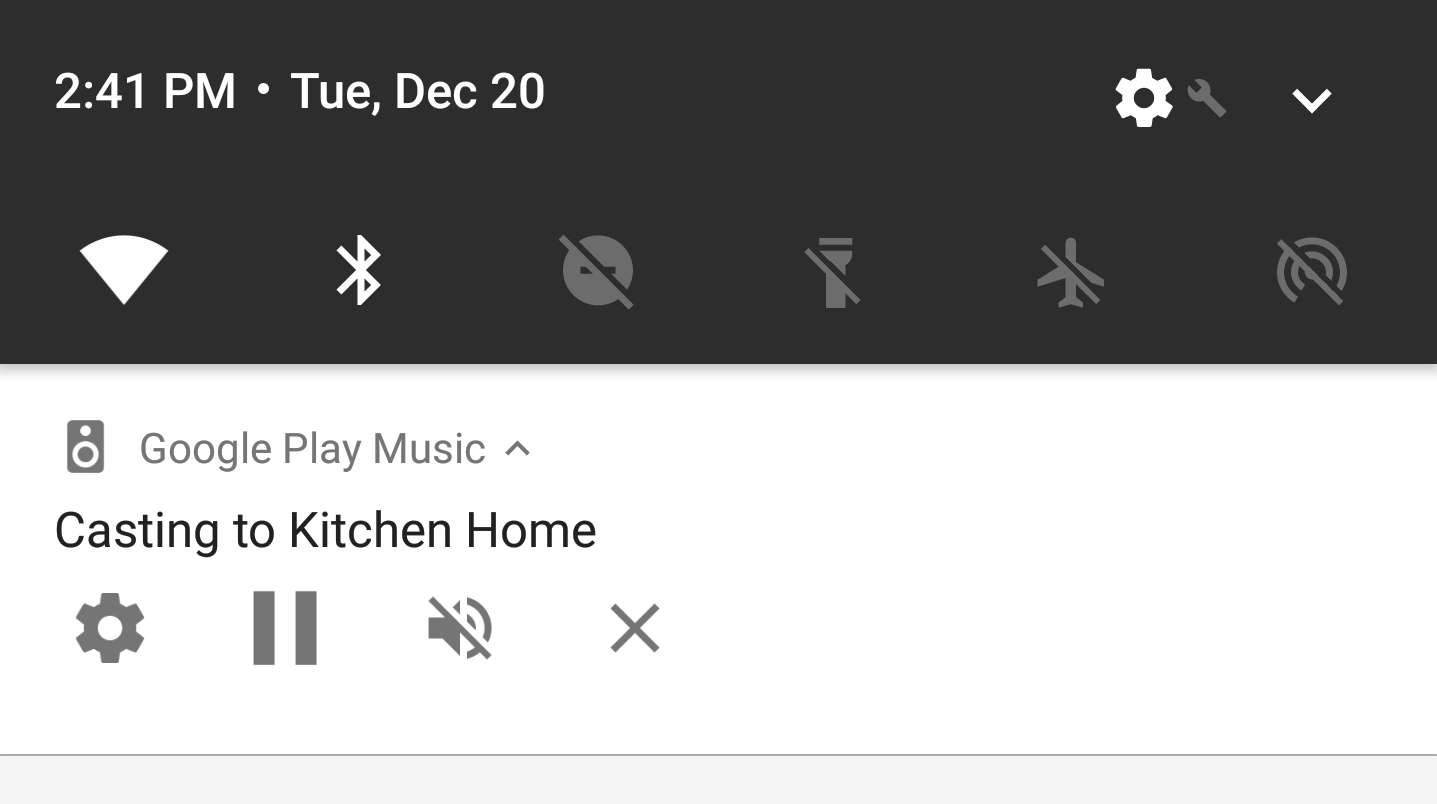 Google please kill the horrible ongoing casting notification for if theres one google complaint weve received regularly recently its in regard to the new casting control notification which started appearing on devices biocorpaavc Gallery