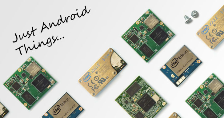 The Android Things Developer Preview 2 is out, adds support for Intel's Joule, brings TensorFlow for machine learning on IoT platforms, and more