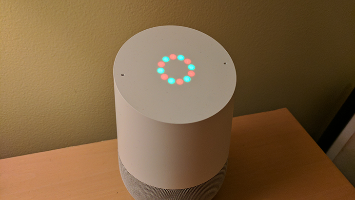 Google Home Has Custom Light Patterns When Playing Holiday